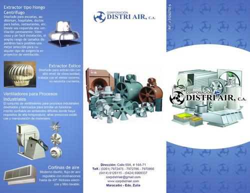 extractor ventilacion forzada industrial rejillas y difusore