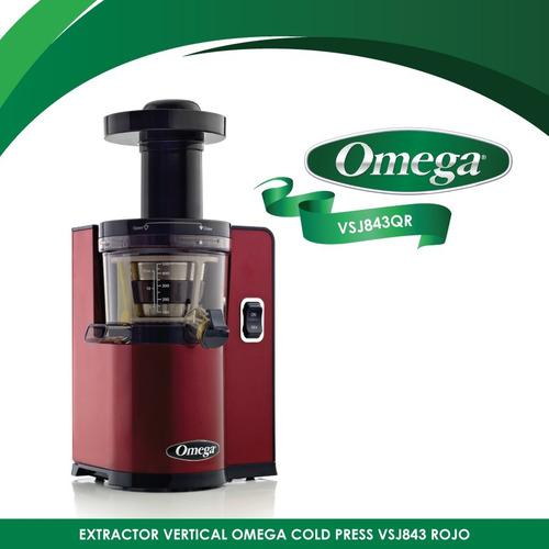 extractor vertical cold press omega vsj843rr
