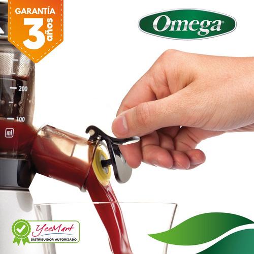 extractor vertical de jugo prensa fría omega vrt400hds