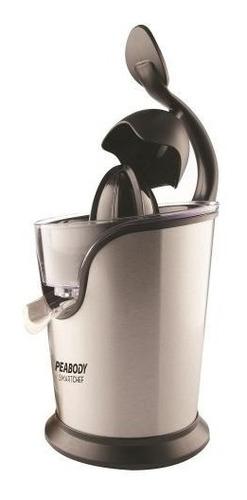 extractora de jugo peabody pc-ec402ix color gris