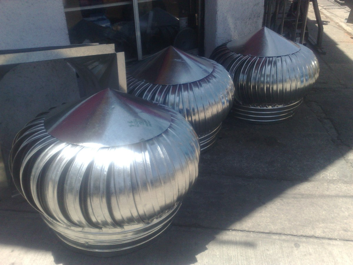 Extractores de aire atmosferico cebolla eolico 30 pulg - Extractores de aire ...