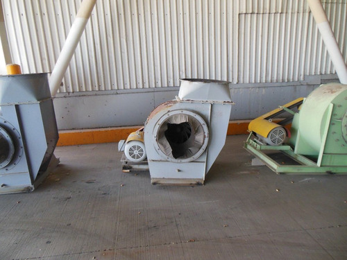 extractores de aire diferentes capacidades de 3 a 20 hp.
