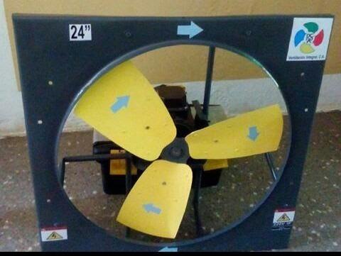 extractores de aire helicoidal 36 pulgadas 2hp de hierro