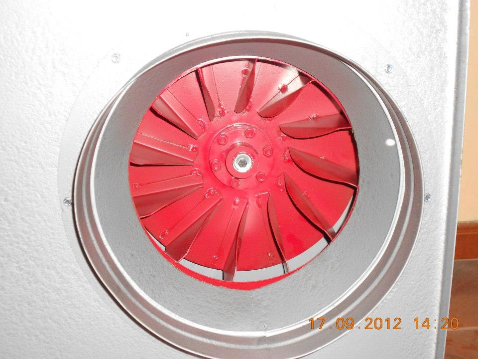 Extractores de aire para campana de cocina e industrial - Extractores para cocinas ...