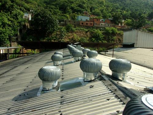 extractores eolicos de 24 plg industriales