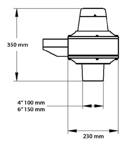 extractor/forzador ecoclima 601 direccional 4 /100mm 275m3/h