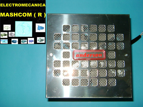 extractor/ventilador de 15 cm acero inoxidable -envio gratis