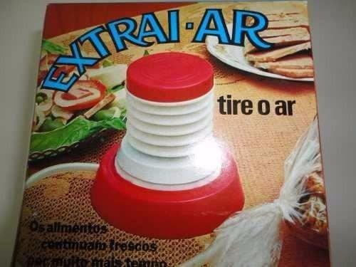 extrai ar tira ar sucção de alimentos e etc extrai ar