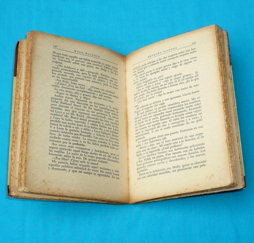 extraña alianza hugh walpole grandes novelistas emecé 1950