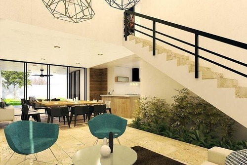 extraordinaria casa en venta lomas de temozón modelo 2 preventa