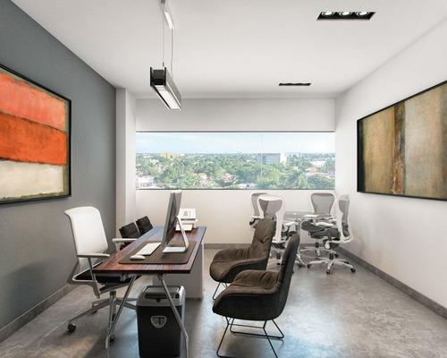 extraordinarias oficinas en renta sky work en temozón norte
