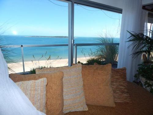extraordinario apartamento frente a la mansa en parada 8 con la mejor vista al mar - punta del este
