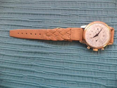 extraordinario cronografo chronometere  maquina landeron