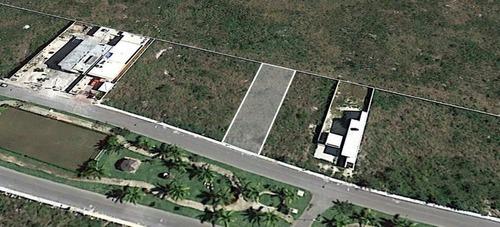 extraordinario terreno residencial en aldea conkal
