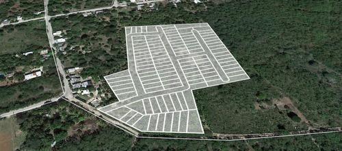 extraordinarios lotes residenciales palmeira en baca