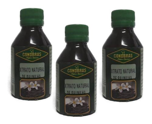 extrato de fava de baunilha natural 300ml condbras