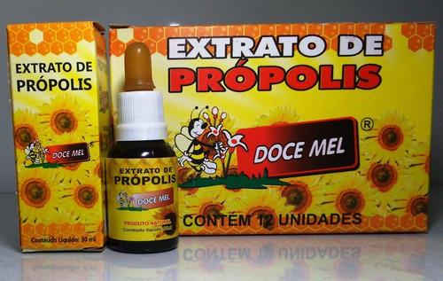 extrato de própolis produtos naturais p/ atacado 12 unidades