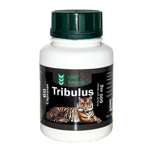 extrato de tribulus 40% saponinas - 168 potes - 60caps 600mg