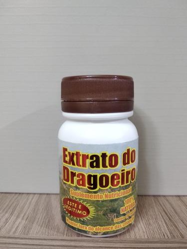 extrato do dragoeiro 30 frascos c/ 30 capsulas original