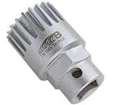 extrator chave de centro ponta quadrada super b tb-1065