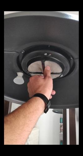 extrator de humo 110v/220v para peluquerias qrc