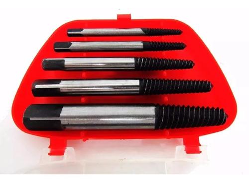 extrator de parafuso quebrado 3 a 18mm 5 peças eda