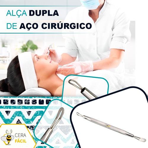 extrator removedor de cravos cureta ponta dupla santa clara