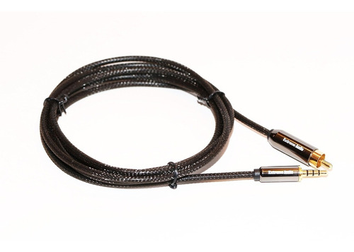 extreme audio 3.5mm estéreo (4 polos) a rca cable de conexió