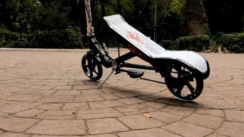 extreme scooter patin del diablo moderno 2 en 1