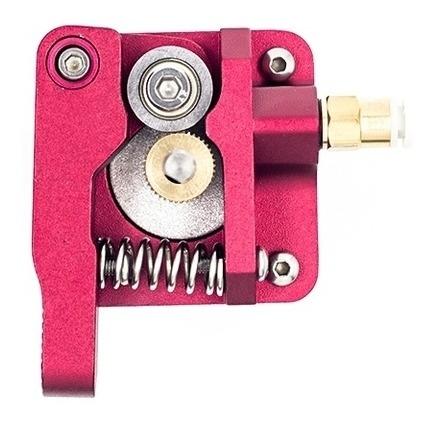 extrusor mk8 metálico izquierdo rojo
