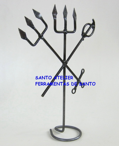 exu 108 ferramentas assentamento santo
