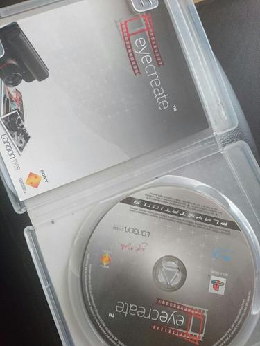 eyecreate ps3 - juego de edición
