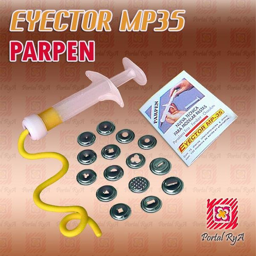 eyector mp35 parpen con 15 discos metálicos