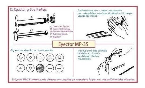 eyector mp35 parpen con 49 discos plásticos