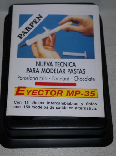 eyector parpen discos metal + estecas cooper porcelana fria