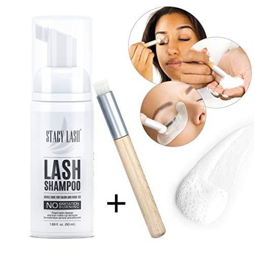 49e23891f09 Eyelash Extension Shampoo Stacy Lash + Brush / 50ml / Eyelid ...