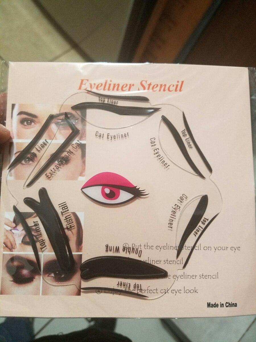 Eyeliner Stencil Plantilla Sombras Ojos Monterrey - $ 65.00 en ...