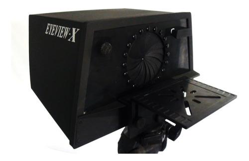 eyeview-x teleprompter para youtubers e profissionais