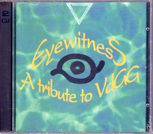 eyewitness - tribute to van der graaf generator - hammil  cd
