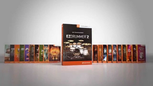 ez drummer 2 + todas las expansiones + 2 ample sound