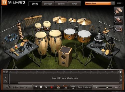 ez drummer 2 + todas las expansiones | pc - mac |