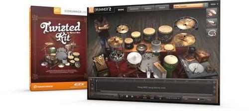 ez drummer expansion twisted kit vst plugins