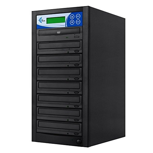 ez dupe 7-target dvd/cd 24x duplicator gs7sob black