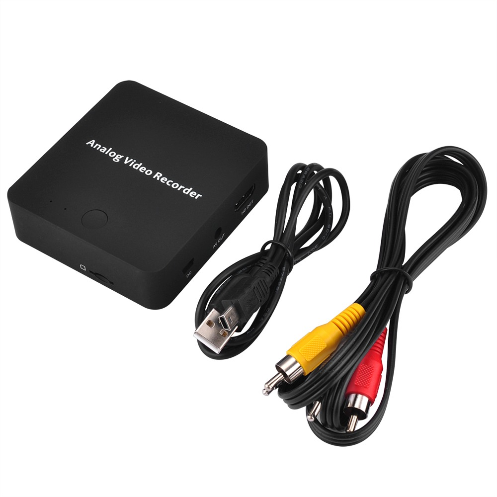 Convertidor de captura de video USB analógico a digital VHS VCR TV a PC Computa
