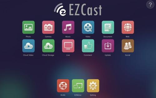 ezcast m2 chromecast hdmi inalámbrico dongle wifi apple tv