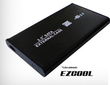 ezcool hd-250 encapsulador 2.5 sata a usb 2.0 (laptop)