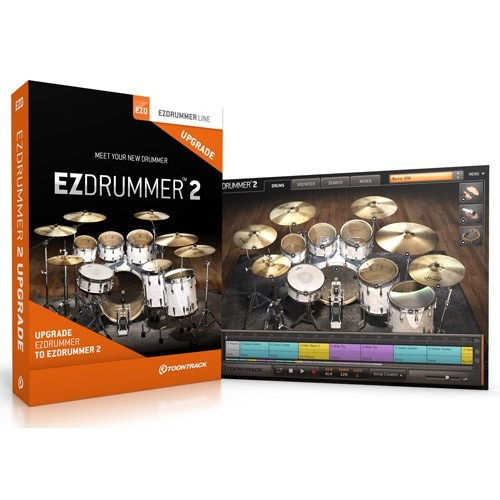 ezdrummer 2  + 20 expansions  8 dvds (win&mac)