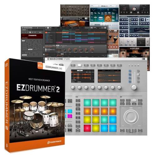 ezdrummer 2 + todas las expansiones | + instalación |pc-mac|