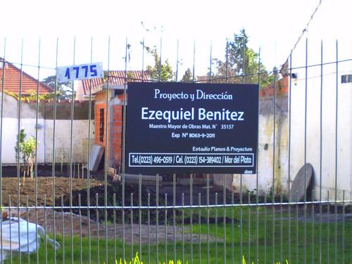 ezequiel d. benitez maestro mayor de obras mat. n° 35157