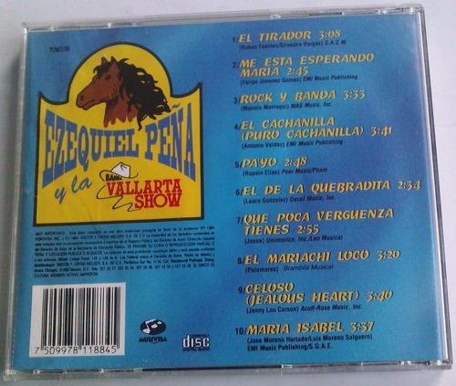 ezequiel peña y la banda vallarta show el tirador cd 1994